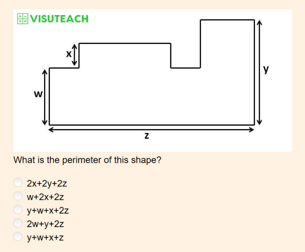 iseb common pre-test maths perimeter question