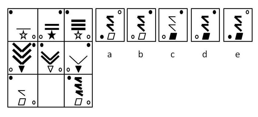 11 plus non-verbal reasoning question 2